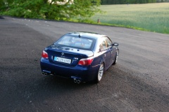 BMW M5 E60 Blue Kyosho 1:18
