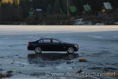 BMW 7er F02 Black Kyosho 1:18