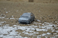 BMW M5 E39 Silverwater Blue Otto Models 1:18