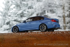 BMW M3 Sedan F80 Blue GT Spirit 1:18